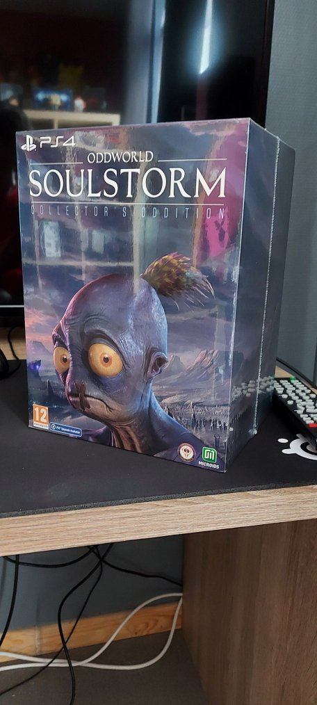 Achat : Collector Oddworld Soulstorm (Collector Oddition) + Unboxing