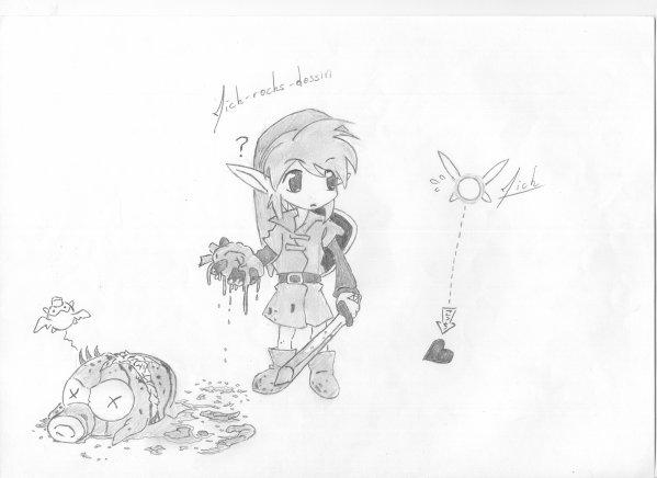 Link Legend Of Zelda Blog De Mick Rocks Dessin