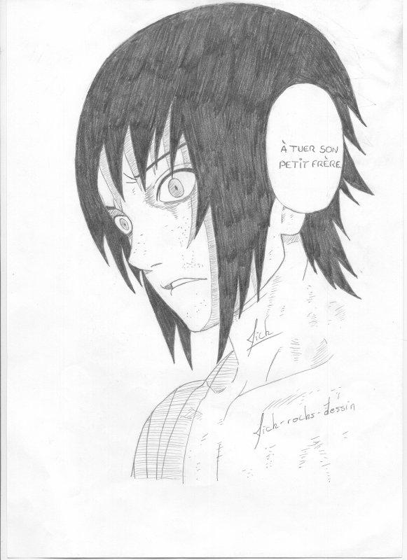 Sasuke uchiwa naruto blog de mick rocks dessin - Dessin naruto et sasuke ...