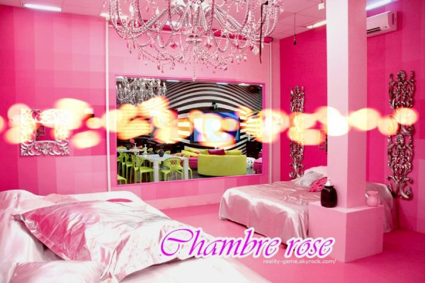 Chambre rose + chambre vert - Reality-Game