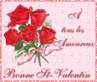 a  tous les amoureux bonne st - valentin