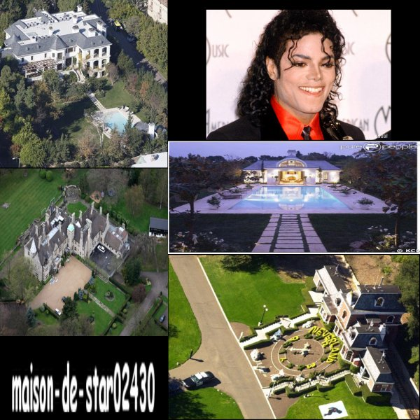 les maisons de michael jackson maison de star. Black Bedroom Furniture Sets. Home Design Ideas