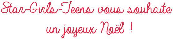 Star-Girls-Teens vous souhaite un joyeux Noël !