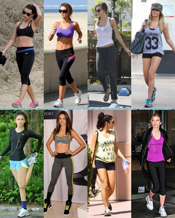 Même en jogging, elles ont la classe !