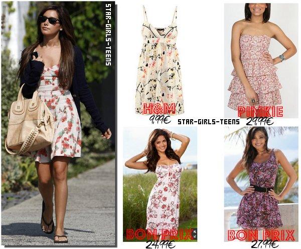 Les robes fleuries, cet été, on dit OUI!