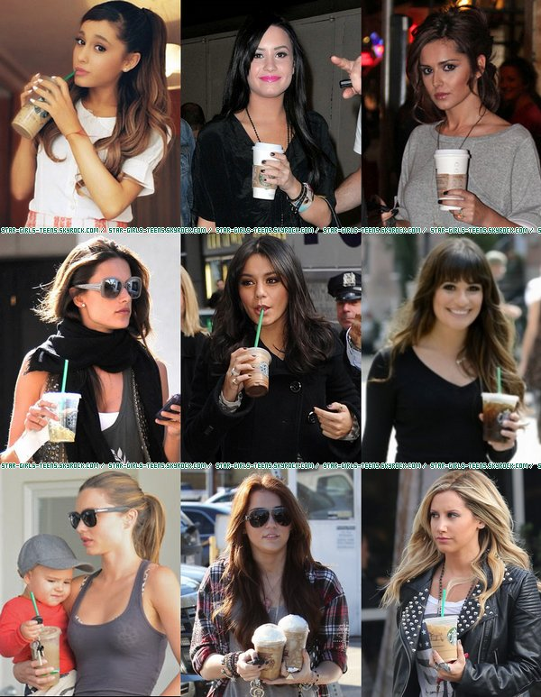 Toutes fans des Starbucks Coffee
