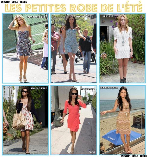 Les petites robes de l'été