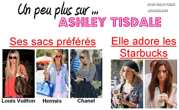 Un peu plus sur ... Ashley Tisdale