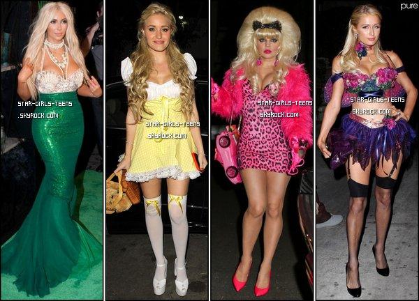 Les déguisements d'Halloween 2012