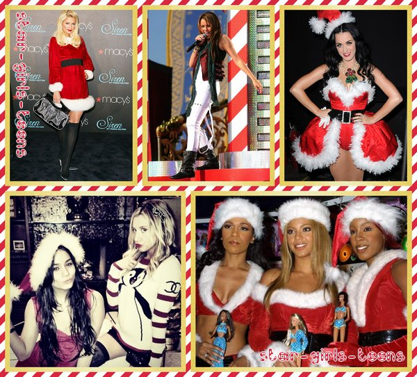 Les tenues de Noël des stars