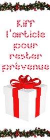 Que vais-je offrir pour Noël ?