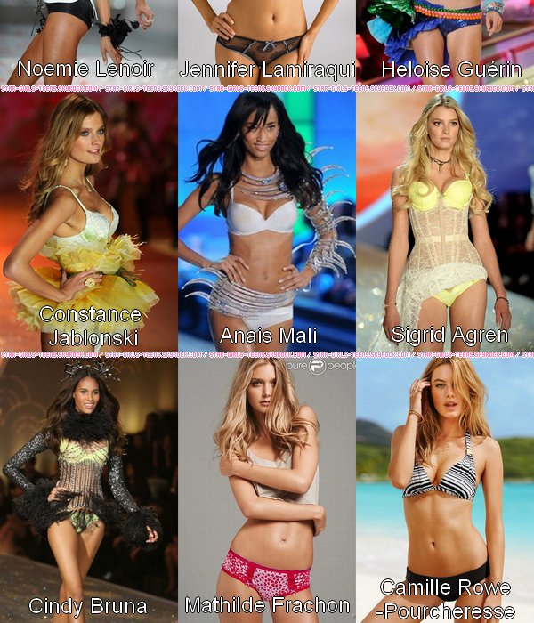Les anges de Victoria's Secret Made In France