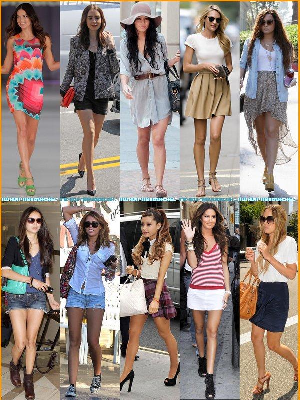 Des idées de tenues pour cet été