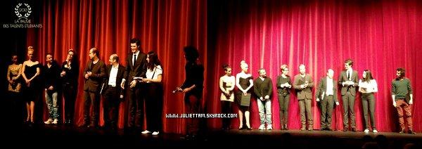 ♦ Vidéo (+) Photos : Juliette jury de la palme des talents étudiant ♦