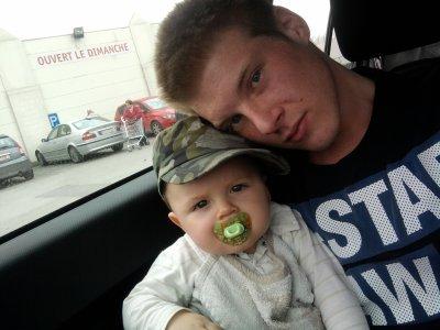 Mon fieul et moi . :)