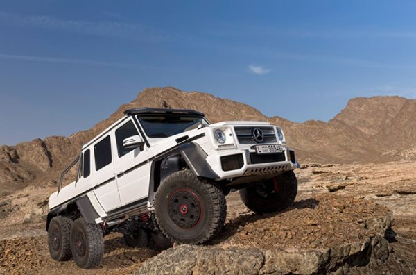6X6 AMG 500.000 $