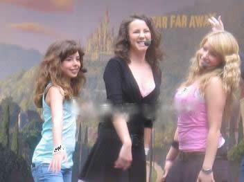 Jessie, Lara et Kia ♥