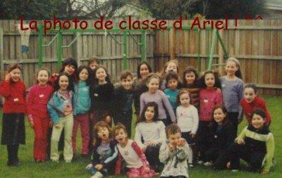 La photo de classe d'Ariel Kaplan (Lisa dans la saison 3) ! ^^