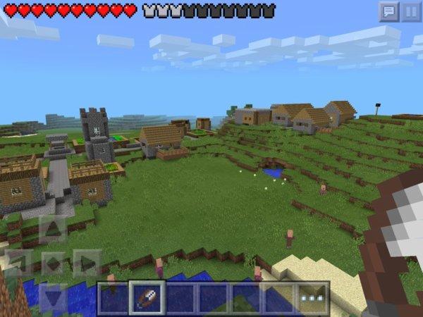 Photo de la nouvelle version de minecraft