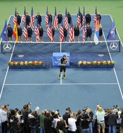 Final US Open 2010, Rafael Nadal
