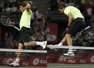 Nadal VS Monfils  finl _ Tokyo - Japan 2010