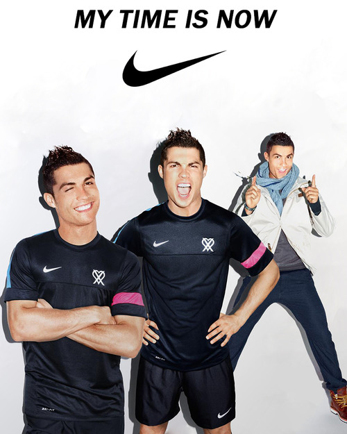 Cristiano Ronaldo pour Nike.