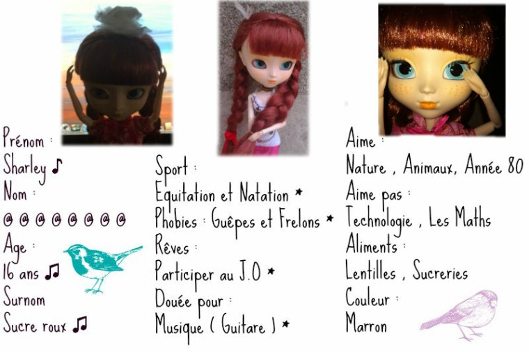 Mª pullip Anne Shirley : Sharley