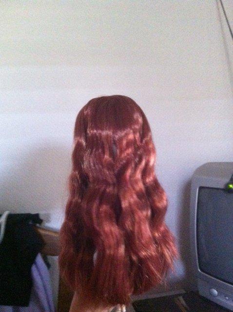 Ma pullip avec ses cheveux lachée :