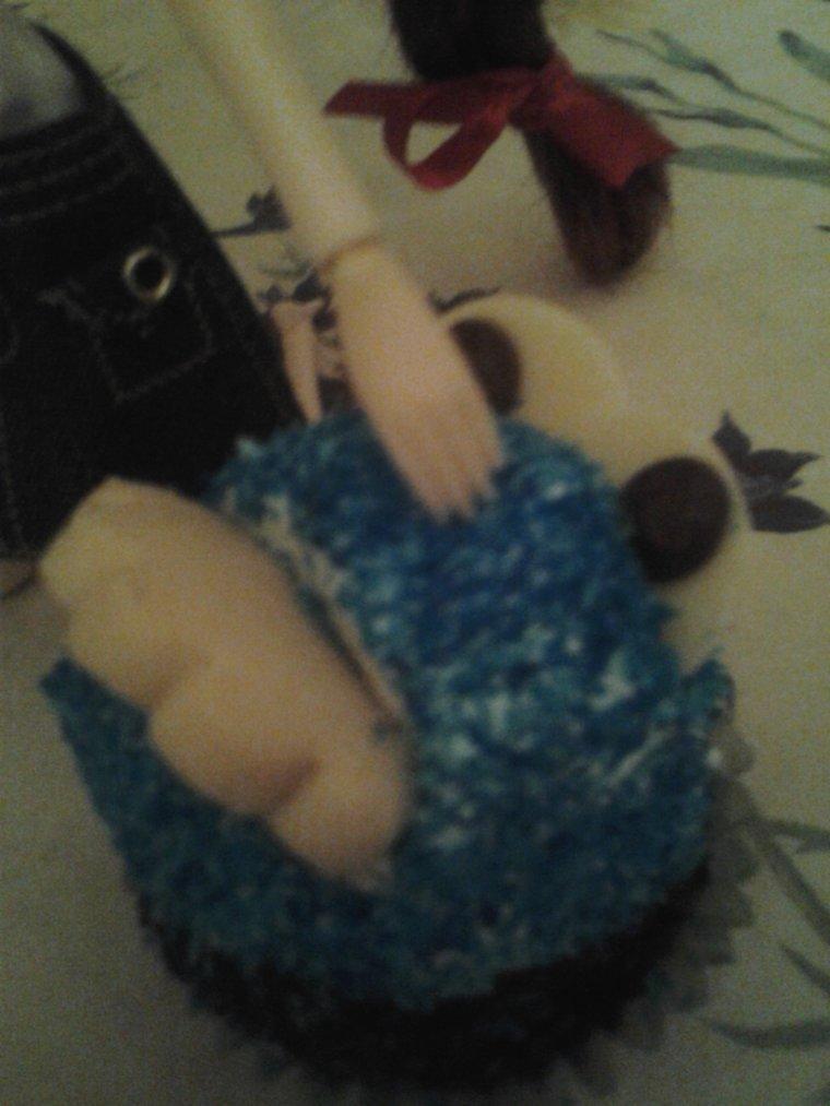 séance photos avec monsieur cupcake