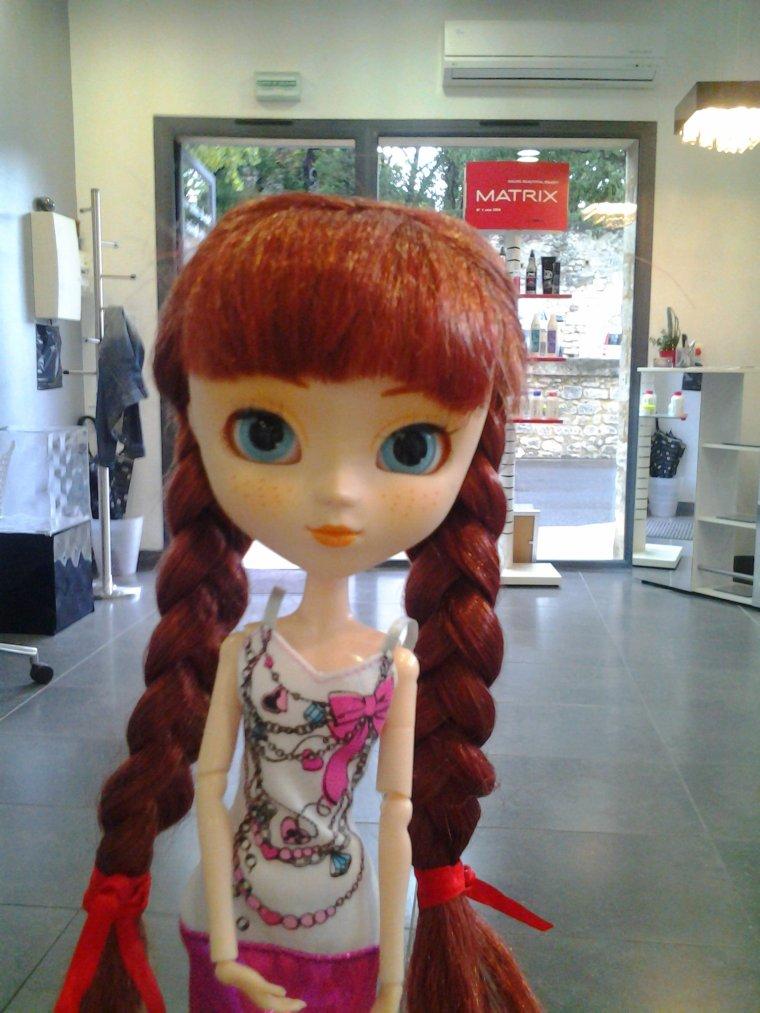 Chez le coiffeur...♥