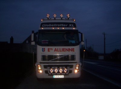 Ma nouvelle boite: Transports Allienne