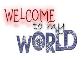 Welcome to my World ✌☮