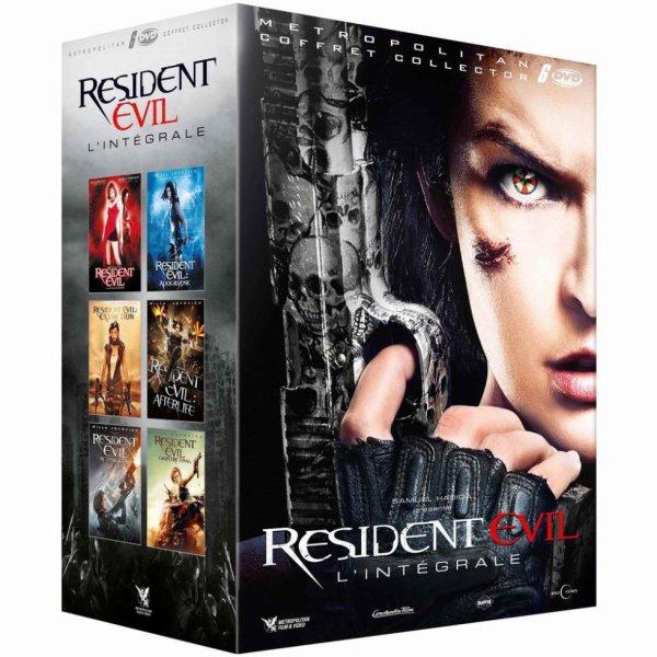 Coffret Resident Evil