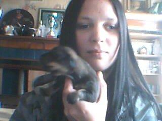 moi et 1de mai chien sur 8