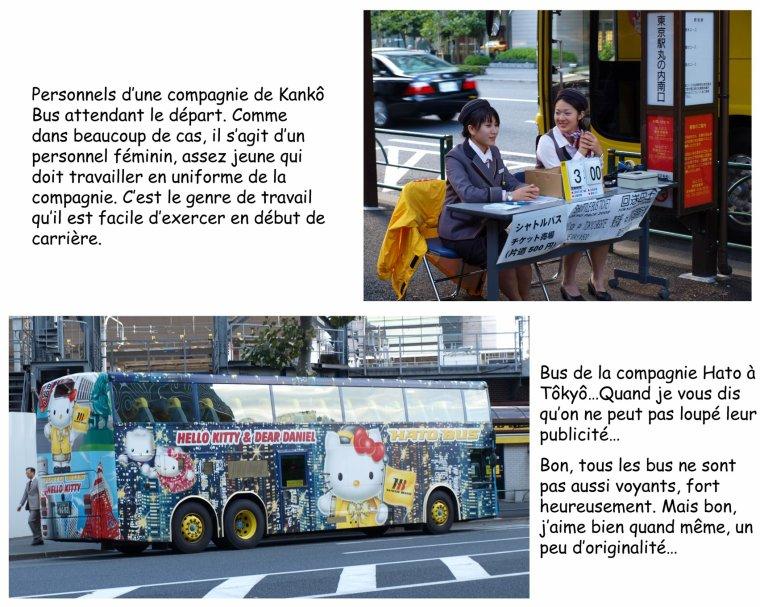 Kankô Bus : service de visite guidée en bus à la japonaise