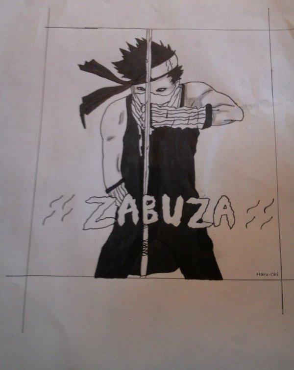 >> Dessins autres : Thème Zabuza Momochi