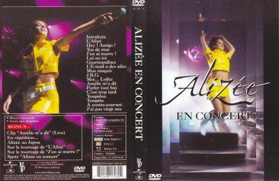 Alizée - En Concert DVD