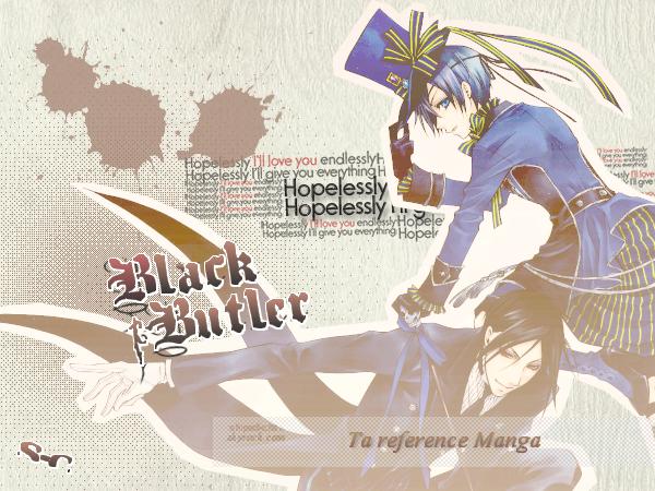 Black Bulter - kuroshitsuji