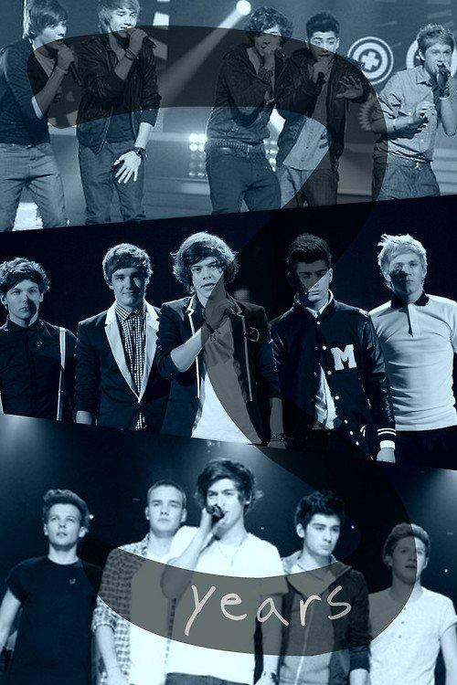 Joyeux anniversaire One Direction♥