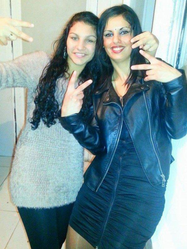 moi et ma cousine et me couz pour la noel 2014