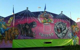cirque du père noël ( le festival du cirque ) FAMILLE ARTIGUES