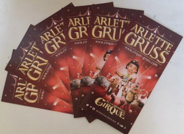 Grand reportage sur le cirque Arlette Gruss, Partie 1 : L'affichage/communication du cirque !