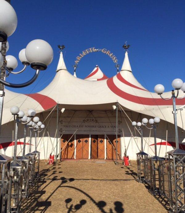 Grand reportage sur le cirque Arlette Gruss, Partie 4 : Le chapiteau !