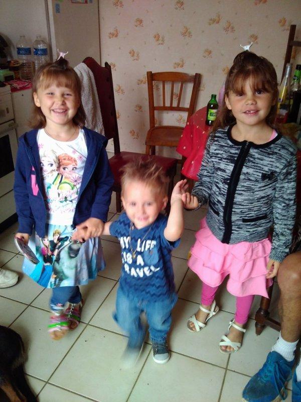 mes 3 petits enfants que j aime