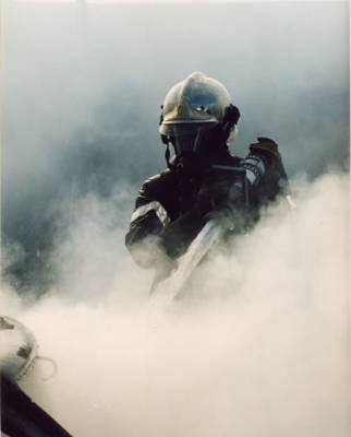 Sapeur pompier  avec ARI