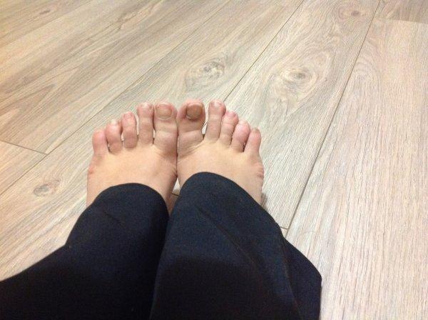 Mes petits pieds sont tout gelés !