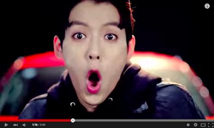 Minhyuk dans Beep Beep x) #Monkey