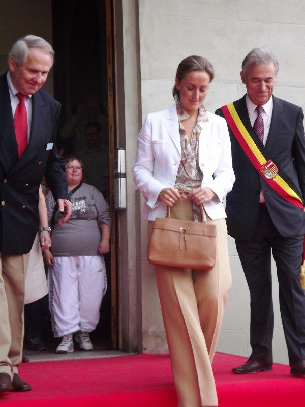 S.A.R. La Princesse Claire de Belgique.