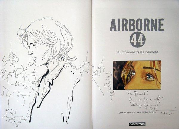 Philippe Jarbinet. Airborne 44 (dédicace album 1).