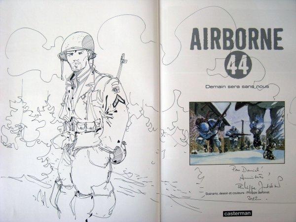 Philippe Jarbinet. Airborne 44 (dédicace album 2).